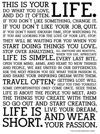 life quotes to live by for facebook. This Is Life…